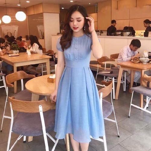 Đầm nữ đẹp chất lụa thái
