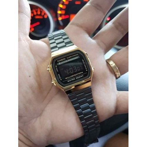 A168 gold black