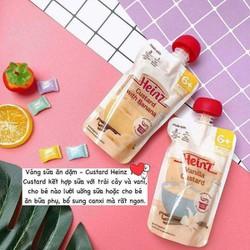 Váng Sữa Heinz Custard Úc Vị Chuối