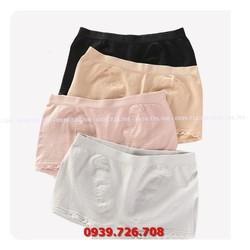 Quần lót cotton boxer viền ren hàng đẹp
