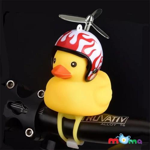 Vịt con gắn xe đội mũ bảo hiểm có chong chóng, có âm thanh pít, có đèn phát sáng gắn trên xe máy, xe đạp, xe đạp điện, xe đạp _c079-vdn - 17304426 , 19810880 , 15_19810880 , 78000 , Vit-con-gan-xe-doi-mu-bao-hiem-co-chong-chong-co-am-thanh-pit-co-den-phat-sang-gan-tren-xe-may-xe-dap-xe-dap-dien-xe-dap-_c079-vdn-15_19810880 , sendo.vn , Vịt con gắn xe đội mũ bảo hiểm có chong chóng, có