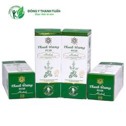 Combo 04 chai nước súc miệng thơm miệng Thanh Hương Plus 250ml
