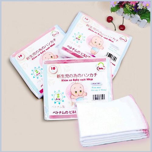 Hot set 10 khăn sữa xô trắng xuất nhật cao cấp 2 lớp - 17365766 , 20397016 , 15_20397016 , 45000 , Hot-set-10-khan-sua-xo-trang-xuat-nhat-cao-cap-2-lop-15_20397016 , sendo.vn , Hot set 10 khăn sữa xô trắng xuất nhật cao cấp 2 lớp