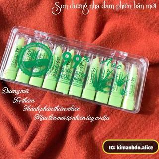 Set 2 thỏi son dưỡng môi nha đam ko màu Thái Lan - sonduongnhadam thumbnail