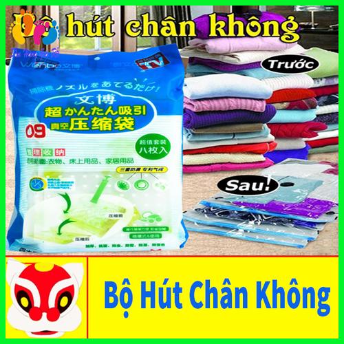 Bộ 8 túi hút chân không đựng chăn màn quần áo - tặng kèm bơm tay - 16977997 , 19855982 , 15_19855982 , 200000 , Bo-8-tui-hut-chan-khong-dung-chan-man-quan-ao-tang-kem-bom-tay-15_19855982 , sendo.vn , Bộ 8 túi hút chân không đựng chăn màn quần áo - tặng kèm bơm tay