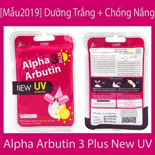 -Mẫu mới 2019- viên kích trắng da toàn thân alpha arbutin 3 plus new uv  - thái lan hộp 10 viên - 17321465 , 19840831 , 15_19840831 , 89000 , -Mau-moi-2019-vien-kich-trang-da-toan-than-alpha-arbutin-3-plus-new-uv-thai-lan-hop-10-vien-15_19840831 , sendo.vn , -Mẫu mới 2019- viên kích trắng da toàn thân alpha arbutin 3 plus new uv  - thái lan hộp 1