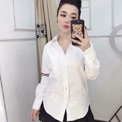 sơ mi nữ QUỐC DÂN 2019 cực đẹp vải cotton pha lụa dày và mát