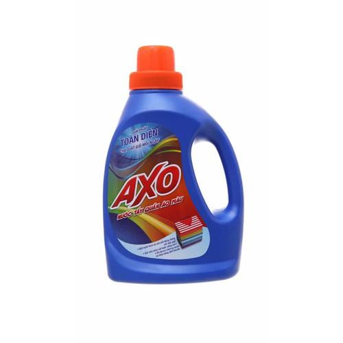Nước tẩy quần áo màu AXO hương hoa Đào hương tươi mát 800ml