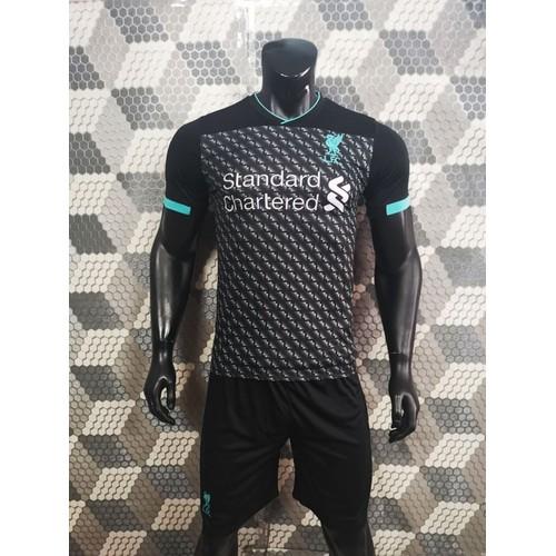 Quần áo bóng đá liverpool rằn ri đồ đá banh mới 2019-20