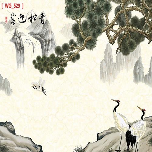 Tranh giấy dán tường 60x90cm sơn thủy tst1208