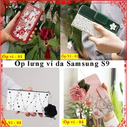 Bao da Samsung S9, ốp lưng bao da samsung s9, bao da s9, ốp ví s9, bao da gập, ốp lưng s9, ốp lưng ví điện thoại samsung s9, ốp Samsung s9, bao da samsung, Aha Case