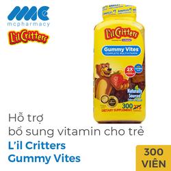 Gummy Vites kẹo dẻo gấu bổ sung Vitamin