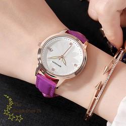 đồng hồ nữ dây da