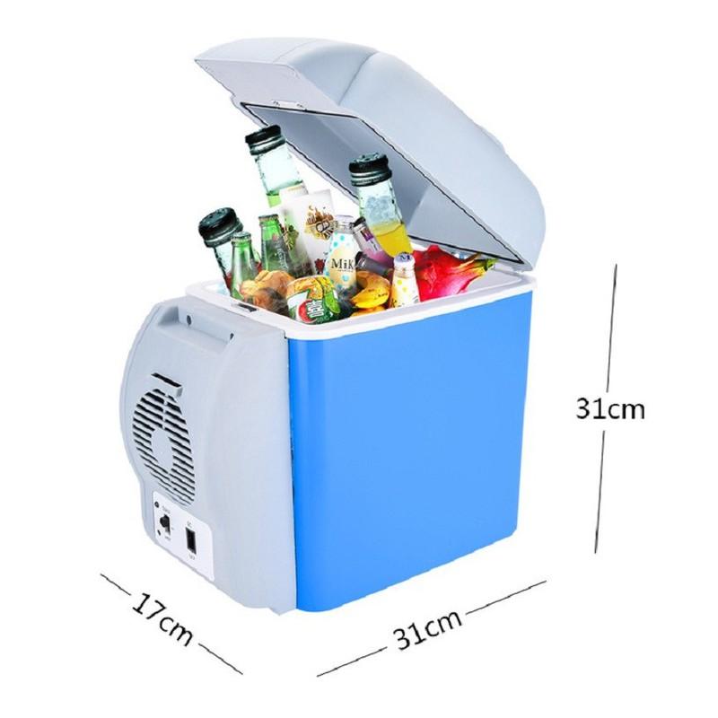 Tủ lạnh mini dành cho xe hơi 7.5L, tủ lạnh văn phòng – tulanh