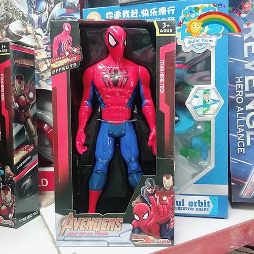 Đồ chơi trẻ em mô hình người nhện spiderman  [đồ chơi trí tuệ]
