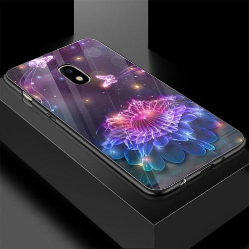 Ốp kính cường lực cho điện thoại samsung galaxy j7 plus - bướm đẹp ms buomd055