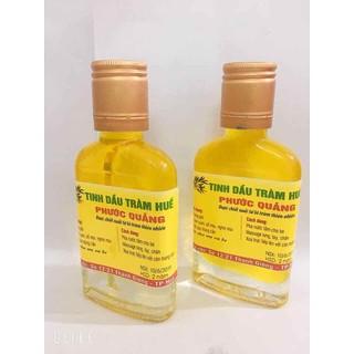2 Chai tinh dầu tràm nguyên chất hiệu phước quảng có giấy kiểm định chất lượng - 2pq thumbnail