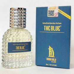 Nước hoa nam Dubai Gold The Blue 30ml dạng xịt, tặng tinh dầu Dubai 5ml có tem chống hàng giả.