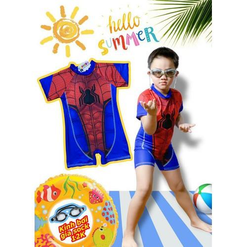 Đồ bơi người nhện và siêu nhân bé trai