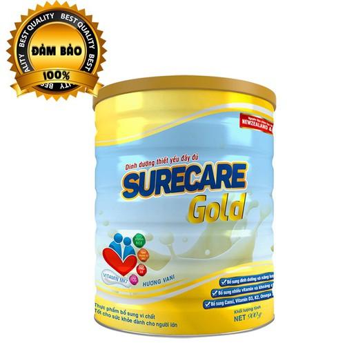 Sữa surecare gold 900g dinh dưỡng đầy đủ cân đối cho người lớn