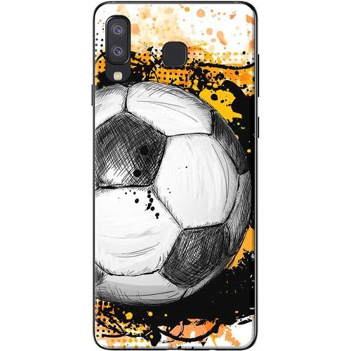 Ốp lưng nhựa dẻo samsung a8 star bóng đá