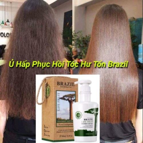 Keratin brazil siêu phục hồi tóc hư tổn chính hãng