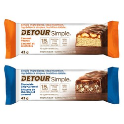 Protein Bar : DETOUR SIMPLE 20g protein hộp 12 thanh