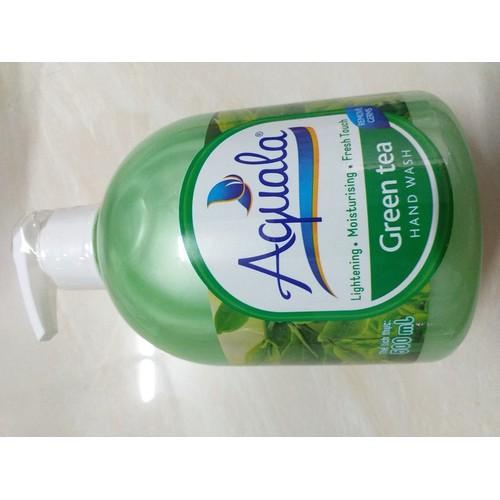 Sữa rửa tay Aquala Hương Trà Xanh 500ml