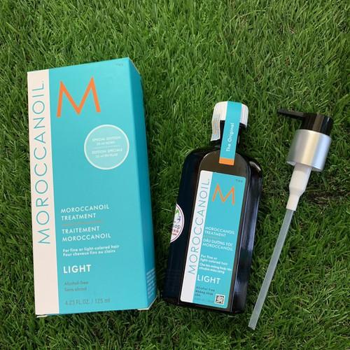 Tinh dầu dưỡng tóc moroccanoil light 125ml