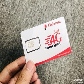 sim vào mạng tốc độ cao kèm nghe gọi nhắn tin sim 4g tiêu chuẩn itelecom - sim 4g data mạnh may v77 thumbnail