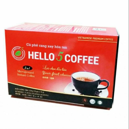 Cà phê hello 5 hòa tan 3 in 1 - 12169426 , 19889431 , 15_19889431 , 55000 , Ca-phe-hello-5-hoa-tan-3-in-1-15_19889431 , sendo.vn , Cà phê hello 5 hòa tan 3 in 1