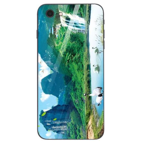 Ốp kính cường lực cho điện thoại iphone 7  -  8 - sơn thủy ms sonthuy013