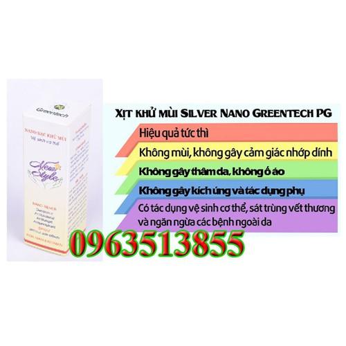 Nano bạc khử mùi hoi cơ thể pg greentech - 12162031 , 19879612 , 15_19879612 , 150000 , Nano-bac-khu-mui-hoi-co-the-pg-greentech-15_19879612 , sendo.vn , Nano bạc khử mùi hoi cơ thể pg greentech