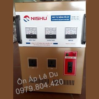 Ổn Áp Nishu 10KVA DR-I dải 50-250V, bảo hành 4 năm, dây đồng - ỔN ÁP NISHU 10KW DẢI 50 thumbnail