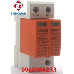 chống sét lan truyền DC 1000VDC TOMZN TZG40-C, bảo vệ hệ thống pin mặt trời,cắt lọc sét,chống sét pin mặt trời một chiều