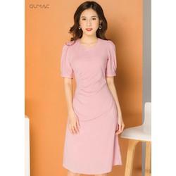Đầm nhún eo GUMAC MS07931_HONG