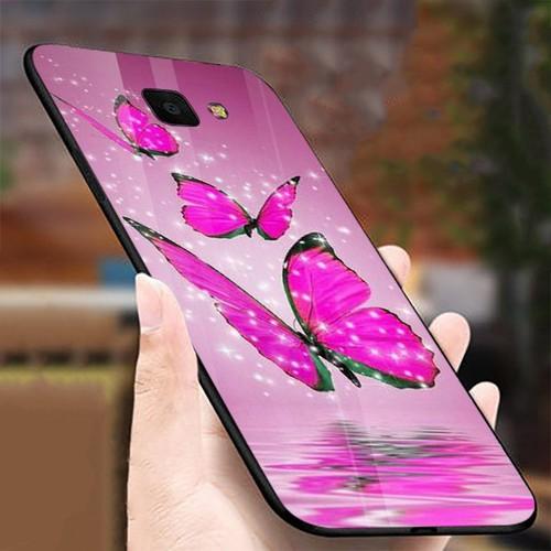 Ốp điện thoại kính cường lực cho máy samsung galaxy a50 - bướm đẹp ms buomd006