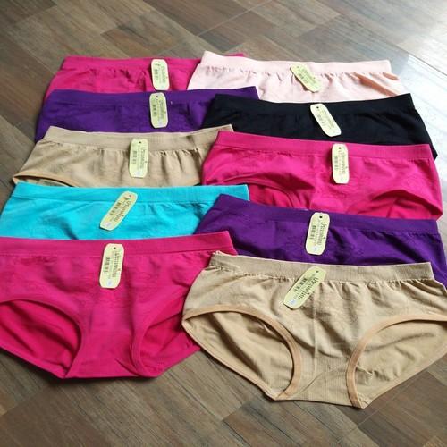 Combo 10 quần lót dệt kim siêu chất