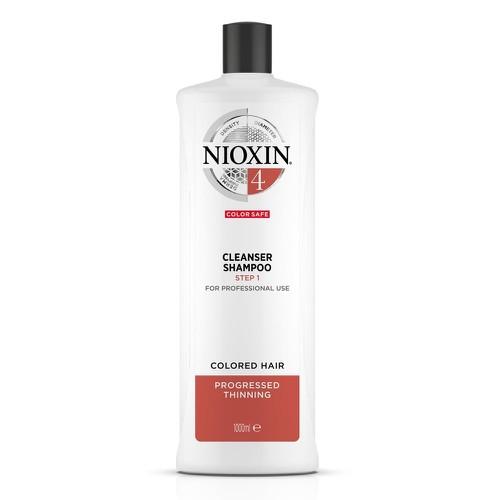 Dầu gội chống rụng tóc nioxin system 4 shampoo 1000ml new 2019