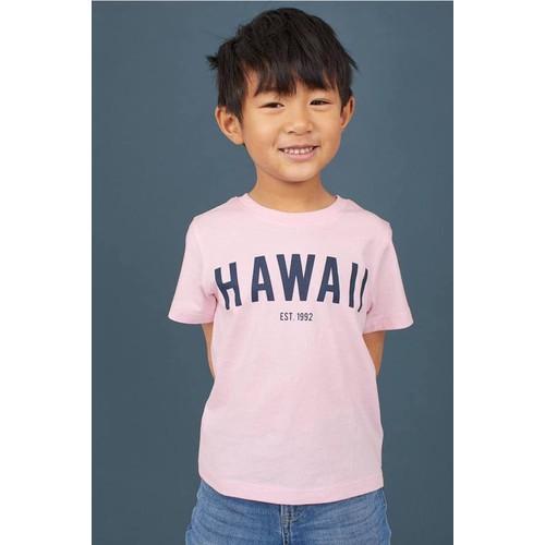 Áo thun bé trai chữ hawaii mã 0697813 004 - hàng nhập mỹ