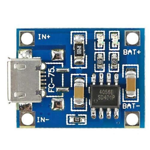 Mạch sạc pin tp4056 1a micro usb