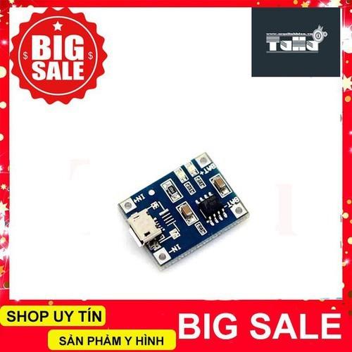 Mạch sạc pin lithium tp4056 1a micro usb giá rẻ