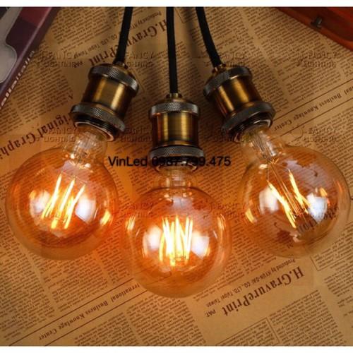 FREESHIP ĐƠN HÀNG 199K Bóng đèn led trang trí Edison G95 4W