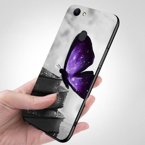 Ốp kính cường lực cho điện thoại oppo a79 - bướm đẹp ms buomd081