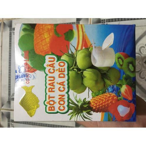 Bột rau câu con cá dẻo hộp 12 gói 10g