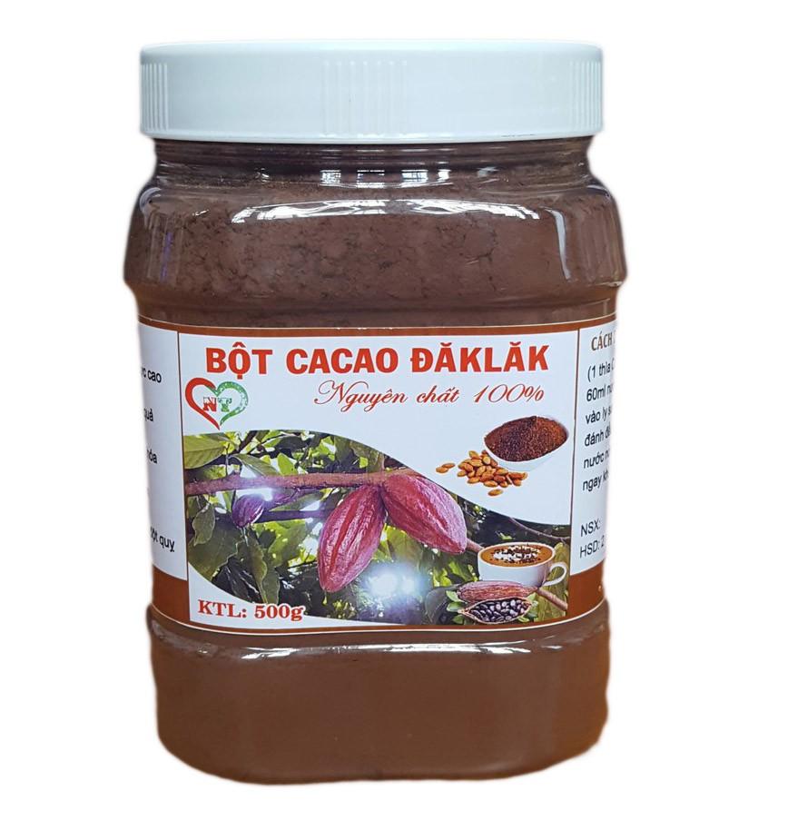 SIÊU RẺ] Bột Cacao Nguyên Chất Đăk lăk 500g, Giá siêu rẻ 60,000đ! Mua liền  tay! - SaleZone Store