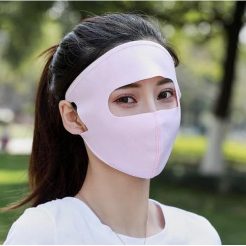 Combo 02 chiếc khẩu trang ninja kín mặt khẩu trang kín mặt có chống tia uv chuẩn loại 1 túi zip sp00152