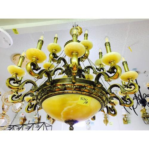 Bộ đèn chùm đồng chao đá 18 tay dc9231 18 bộ bóng led 800 000đ - 19374294 , 23479193 , 15_23479193 , 16790000 , Bo-den-chum-dong-chao-da-18-tay-dc9231-18-bo-bong-led-800-000d-15_23479193 , sendo.vn , Bộ đèn chùm đồng chao đá 18 tay dc9231 18 bộ bóng led 800 000đ