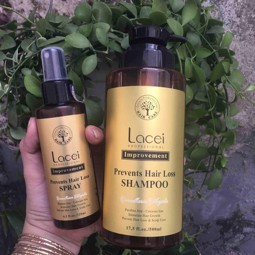 Combo dầu gội và xịt kích thích mọc tóc lacei improvement - 12175611 , 19898136 , 15_19898136 , 618800 , Combo-dau-goi-va-xit-kich-thich-moc-toc-lacei-improvement-15_19898136 , sendo.vn , Combo dầu gội và xịt kích thích mọc tóc lacei improvement