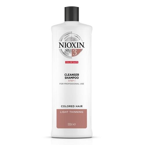 Dầu gội chống rụng tóc nioxin system 3 shampoo 1000ml new 2019 colored hair